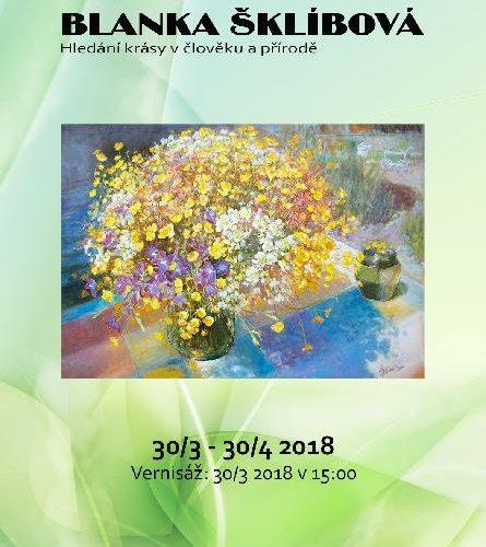 Výstava obrazů – Blanky Šklíbové